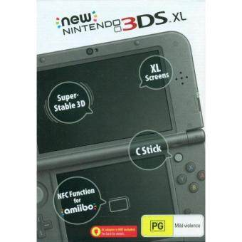 Harga Nintendo New 3DS XL-Asia BLACK