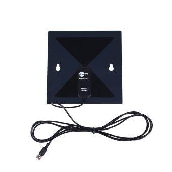 Harga HD Digital TV HDTV Antenna -Black 1M Range As Seen On TV No More Cable Bills New
