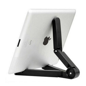 Harga Foldable Adjustable Angle Tablet Bracket Stand Holder Mount for iPad Tablet PC Mobile Phone Holder 10 Inch