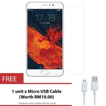 Harga MeiZu M5 Tempered Glass Screen Protector + FREE Mico USB Cable