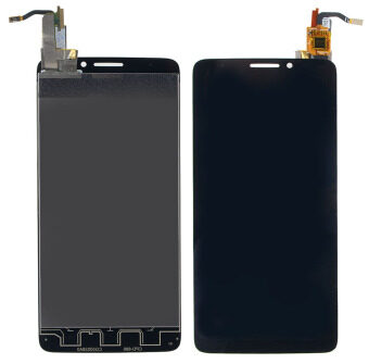 Harga LCD Display Touch Screen Digitizer Assembly For Alcatel One Idol X OT-6040-