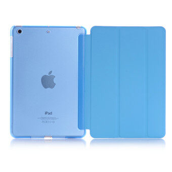 Harga New iPad 2017 iPad 9.7 inch / Ipad Air (ipad 5) case, Welink Ultra Slim Smart Cover PU Leather Case for Ipad Air (ipad 5) / New iPad 2017 iPad 9.7 inch (Blue)