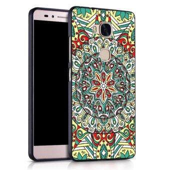 Harga Silica Gel Soft Phone Case for Huawei Honor 5X (Multicolor)