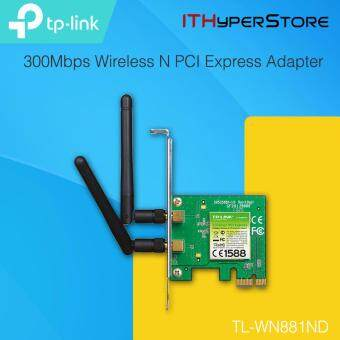 Harga TP-LINK TL-WN881ND 300Mbps Wireless N PCI Express Adapter