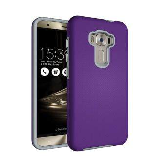 Harga For Asus ZenFone Selfie ZD551KL Ultra Slim Anti-Slip Shockproof Phone Back Case Cover (Purple)