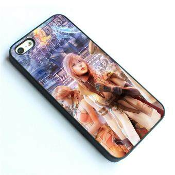 Harga For iPhone 4 / 4s phone case TPU cover Final Fantasy Gir