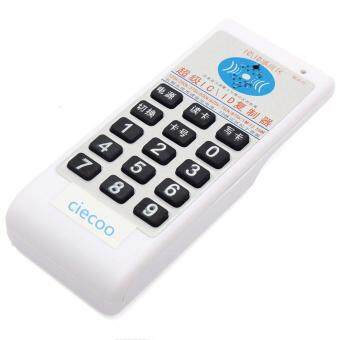 Harga IC/ID copy device English vesion 125Khz-13.56MHZ frequecny access RFID card Duplicator/Copier +10pcs (T5577+ UID) Rewritable key