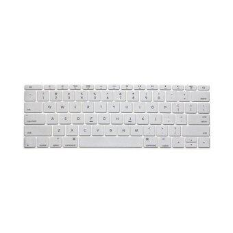 Harga Keyboard protector 13 Inch for Apple Mac-book Air/ Mac-book Pro US Version (Silver)