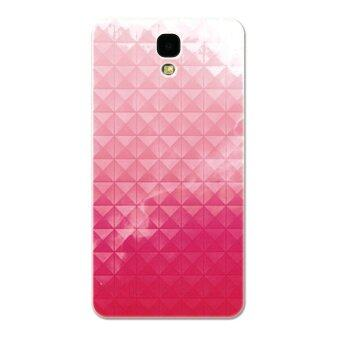 Harga PC Plastic (Fuchsia) nebula Case for Samsung mega 2 (Multicolor)