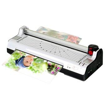 Harga YE288 6IN1 A4 Multifunction Laminator with Cutter Trimmer Corner Rounder