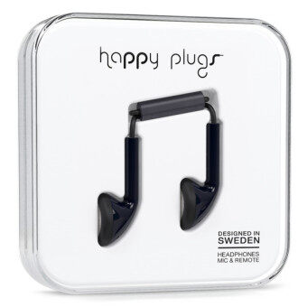 Harga Happy Plugs Earbuds (Black)