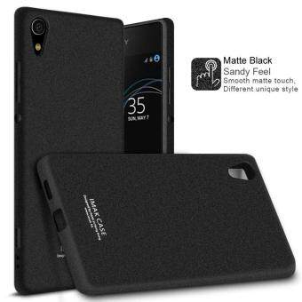 Harga IMAK Matte Finish TPU Soft Phone Case + TPU Explosion-proof ScreenProtector Film for Sony Xperia XA1 - Matte Black