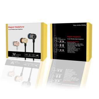 In-Ear Headphones Sports Wireless Earphone Magnet Headsets with Mic