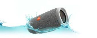 JBL Charge 3 Portable Bluetooth Speaker (Grey)