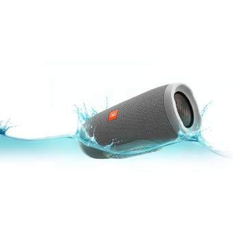 JBL Charge 3 Portable Bluetooth Speaker (Grey)