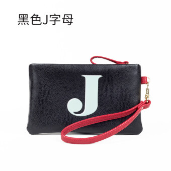 Malaysia Prices Jianyue lettered zip bag mini purse bag clutch bag