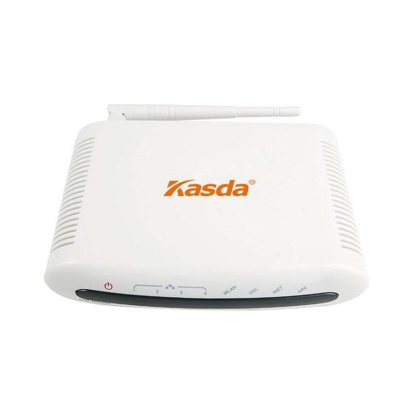 Kasda KW5815AUK 150 Mbps WIFI ADSL2/2 + MODEM Router Kombo untuk Phoneline Sambungan Rumah Router Jaringan USB Pengguna untuk Berbagi (Internasional-Internasional