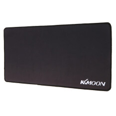 Kkmoon 600*300*3mm Large Size Plain Black Extended Water-resistant Anti-slip Rubber Speed Gaming Game Mouse Mice Pad Desk Mat Malaysia