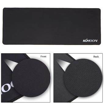 KKmoon 800*300*3mm Large Size Plain Black Extended Water-resistant Anti-slip Rubber Speed Gaming Game Mouse Mice Pad Desk Mat Malaysia