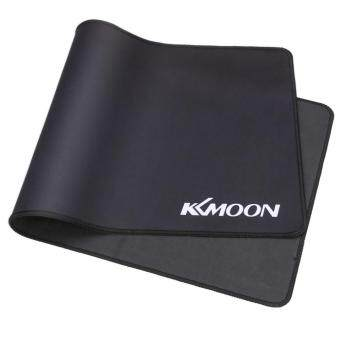 KKmoon 900*400*3mm Large Size Plain Black Extended Water-resistant Anti-slip Rubber Speed Gaming Game Mouse Mice Pad Desk Mat Malaysia