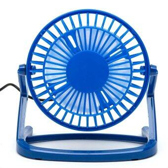 KWOK 2Pcs USB MiNi Fan 360 Degree Rotation Super Mute Table Fans Air Conditioner (Color:c0) Malaysia