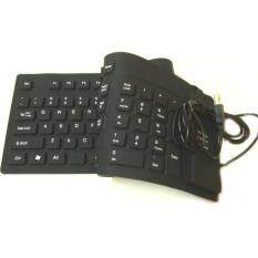LARGE USB Flexible Foldable Keyboard For Notebook PC computer System Malaysia