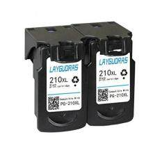 MYR 233 LAYGUDRAS PG 210XL CL 211XL Show Accurate InkLevel Remanufactured Ink Cartridge High Yield For PIXMA IP2702 IP2700 MP230 MP240 MP250 MP270 MP280