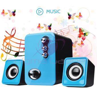 LD2100 2.1 USB Mini Multimedia Speaker for Notebook/Desktop PC Malaysia