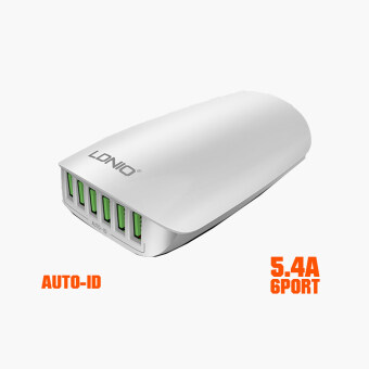 Malaysia Prices LDNIO A6573 Quick Charge 6 USB Port Smart Fast Home Office ForiPhone 7 Plus Samsung Xiaomi Tablet PC Wall Charger EU/US/UK/AU