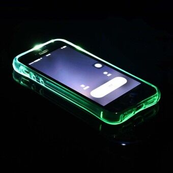 LED Phone Case Cover Incoming Call Lights UP Frame For iPhone 6/6S(Blue