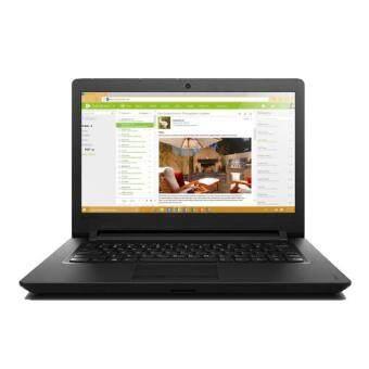"Lenovo Ideapad 110 14IBR 80T6006LMJ 14\"" Laptop Black (N3060, 4GB, 500GB, Intel, W10)"