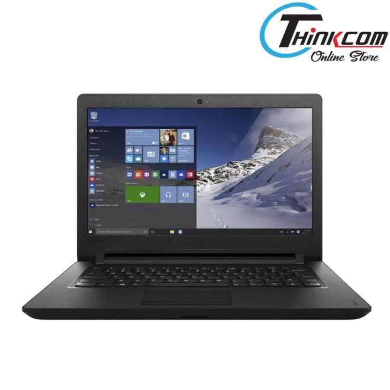 LENOVO IDEAPAD 110-14IBR 80T600AEMJ -BLACK (N3060/4GB/500GB/14HD/W10/1YR) Malaysia
