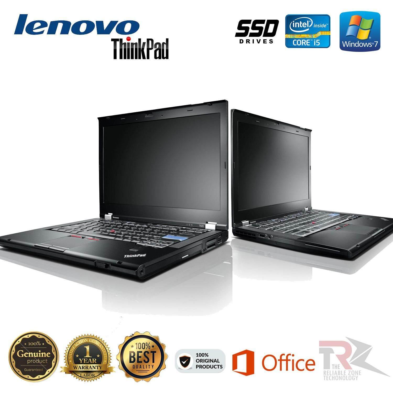 LENOVO THINKPAD T420s - 14 - •INTEL CORE I5-2520M CPU 2.5 GHz TURBO BOOST 3.20GHZ  - 4 GB RAM - 128 GB SSD - WINDOWS 7 PRO 64 BIT - 1 YEAR WARRANTY Malaysia