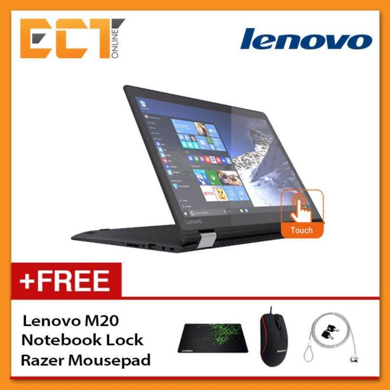 Lenovo YOGA 510-14IKB 80VB004RMJ Laptop (i5-7200U 3.1Ghz, 1TB,4GB,ATI R5 M430 2GB,14FHD,W10) - Black Malaysia