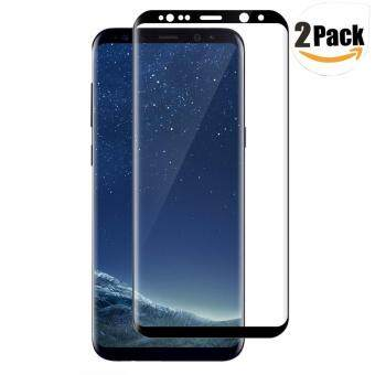 Harga LUOWAN Galaxy S8 Plus Tempered Glass Screen Protector,[2 pack]3DFull Coverage Screen Protector for Samsung Galaxy S8 Plus(Black)