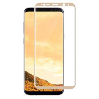 Harga LUOWAN Galaxy S8 Plus Tempered Glass Screen Protector,3D FullCoverage Screen Protector for Samsung Galaxy S8 Plus (Maple Gold)