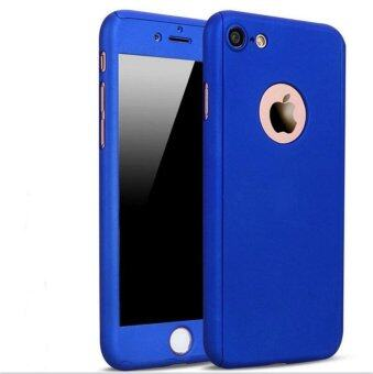 Luxury 360 Degree Full Body Protection Case Cover with TemperedGlass for iPhone 5/5S/