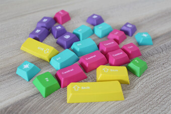 Made of mechanical keyboard supplement caps