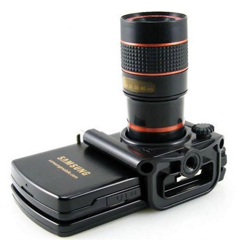 MAXGear Universal 8x Zoom Telephoto Lens Phone Camera TelescopeG0357