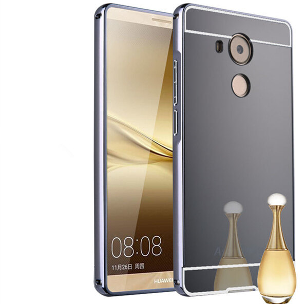 P8 Source · Metal Aluminum Frame Mirror Back Case for Huawei Mate 8 .