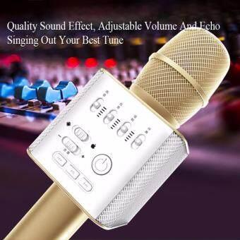 Micgeek Q9 Portable Wireless Bluetooth Karaoke Speaker Microphone Mic with Handheld Karaoke KTV Singing Function USB Support - 3