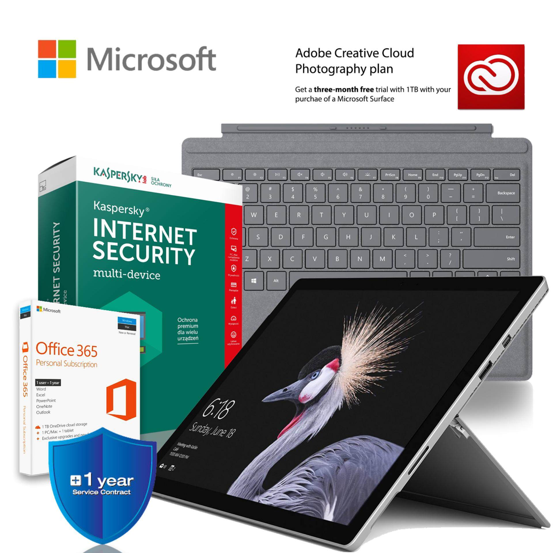 Microsoft New Surface Pro i5 256GB SSD / 8GB Bundle Malaysia