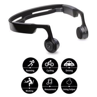 Mix8 Wireless Bluetooth Headphones On-Ear Headset Bone ConductionOpen-Ear Releasing Stereo Headsets Auriculares with Mic