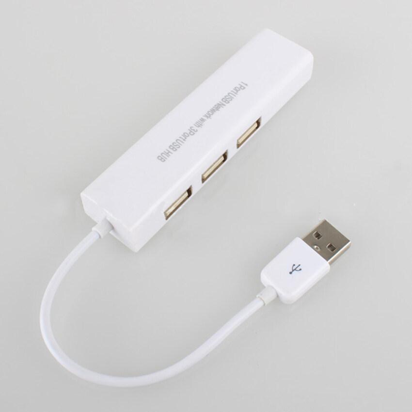 Gambar Produk Rinci Moonar USB Gigabit Ethernet RJ45 External Network Lan Adapter 10/100 Mbps for Laptop PC - intl Terkini