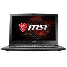 MSI GL62M 7REX-1217 15.6 FHD Gaming Laptop Black (i7-7700HQ, 4GB, 1TB+128GB, GTX 1050 Ti 2GB, W10) Malaysia