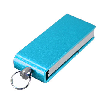 Multicolour Swivel 32GB USB 2.0 Metal Flash Pen Drive Memory Stick Blue