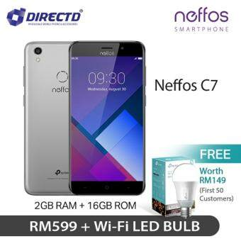 Neffos C7 (2GB /16GB /5.5'), Original MY Set!! Exclusive GIFT WORTH RM 149 For First 50 Customer !! Only At DirectD