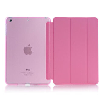 New iPad 2017 iPad 9.7 inch / Ipad Air (ipad 5) case, Welink Ultra Slim Smart Cover PU Leather Case for Ipad Air (ipad 5) / New iPad 2017 iPad 9.7 inch (Pink)