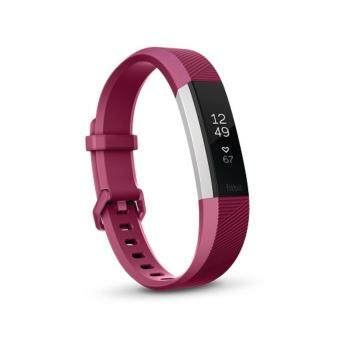 "Harga [New Launch] Fitbit Alta HR Heart Rate + Fitness Wristband Large6.7"" - 8.1"" (Fuchsia)"