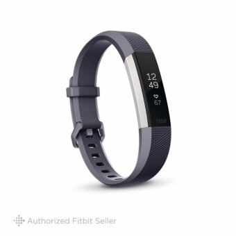 "Harga [New Launch] Fitbit Alta HR Heart Rate + Fitness Wristband Small5.5"" - 6.7"" (Blue Gray)"